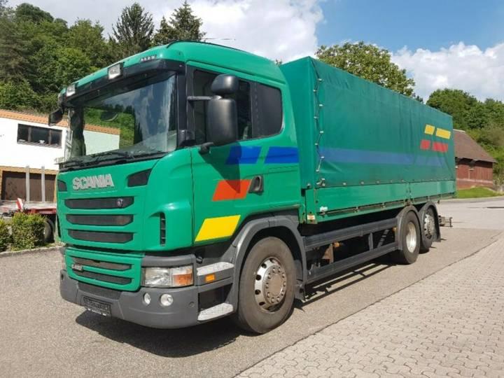 Scania G420 BL 6x2,Euro5 EEV,Retarder,mech.Schaltung - 2010