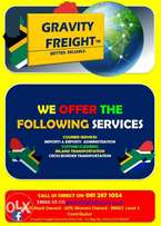 Courier and Freight Services