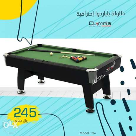 8 feet billiard table with all accessories