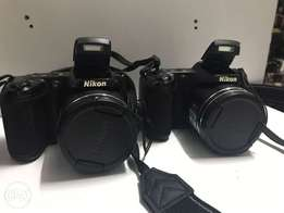 Two Nikon L340 Professional camera .. Must have offer