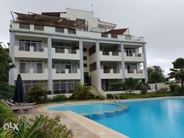 Classic Brand New 3br rental flat with pool in secure serene of Nyali