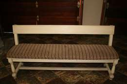 Wooden Benches( Washed) with cushions