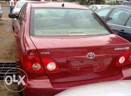 Toyota Corolla 2005 Red