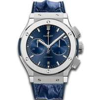 Blue Leather Strap Hublot