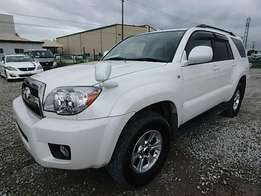 Toyota Hilux Surf 2009 Model Automatic 4WD Pearl White
