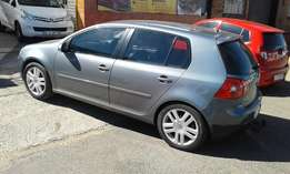 2009 vw golf 5 tsi 2.0 in a perfect condition