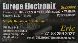 Audio visual sale and service