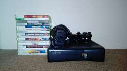 Xbox 360 console and Xbox 360 games