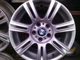 17 inch rims for BMW on special set of 4 rims . looks new 17,inch