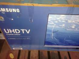 "49"" Samsung UHD smart satellite"