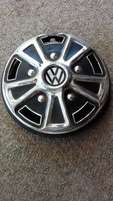 VW, older model, 12 inch, hub cap