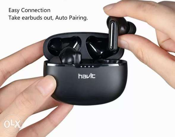 Havit I99 TWS True Wireless Stereo Earbuds In-ear Detection Technology الرياض -  7