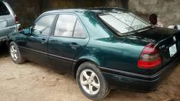 Green Benz class available for sell