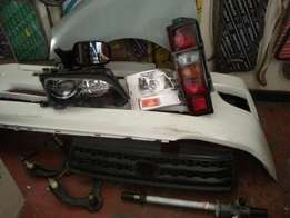 Spares & body parts new & second hand.service kits,engines & parts