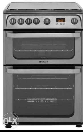 Hotpoint stainless gas cooker Surulere - image 2