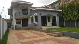 An executive four bedroom house for rent