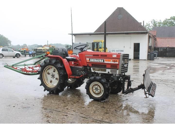 Shibaura P15F 4WD Mini Tractor Met Weidesleep En Schuif - image 7