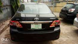 Neatly used Toyota corolla 2012 model