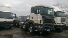 Neat and Just arrived Scania R500 Twinsteer Rigid Truck For Sale
