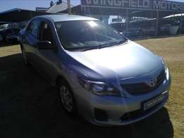 Toyota Corolla Quest 1.6- Full agent service history