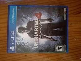 Ps4 Uncharted 4 for sale or to swap .