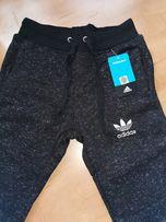 Archiwalne: Spodnie dresowe adidas ocieplane S Jasin • OLX.pl