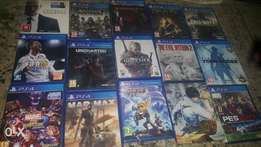 Used games for core gamers ps4 PlayStation 4..working perfectly