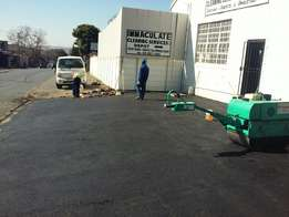 Tar resurfacing and driveways