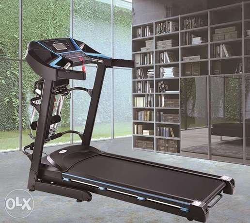 Track Fitness 2.HP Auto Incline Treadmill Multi-function One Year W