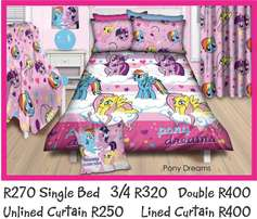 My Little Pony Single Bed Duvet Cover NEW
