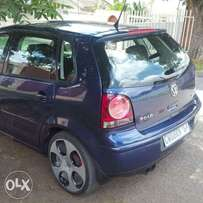 VW Polo 1.6 engine with 2pipes