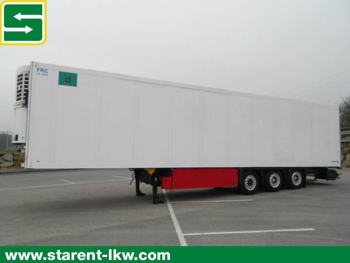 Schmitz Cargobull Thermotrailer, Thermo King SL400e, Doppelstock - 2008