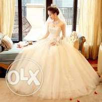 Wedding Dress Simple Bridal Gown ivory s
