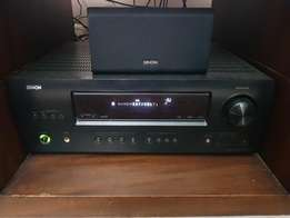 DENON amplifier and home theater 3D surround system