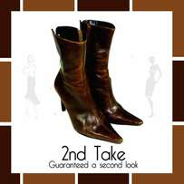 Steve Madden Designer leather boots at unbeatable prices from 2nd Take