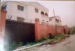 2 Buildings of 6nos 3bedroom flat each on 2plots of land for sale