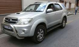 Toyota fortune d4d