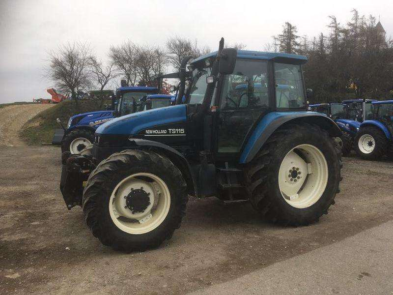 New Holland TS 115 Electro Command - 2000