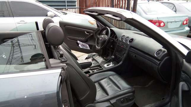 Smooth Driving Registered 2004 Audi A4 1.8T Convertible In Good Condit Lekki - image 3