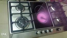 BOSCH 6 burners stainless cooker hob