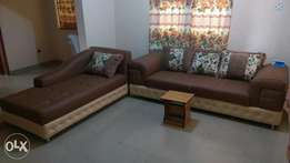 Brand New Semi Detached 6 Seaters Leather Sofas