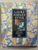 """""""Laura Ashley Style"""" coffee table book"""