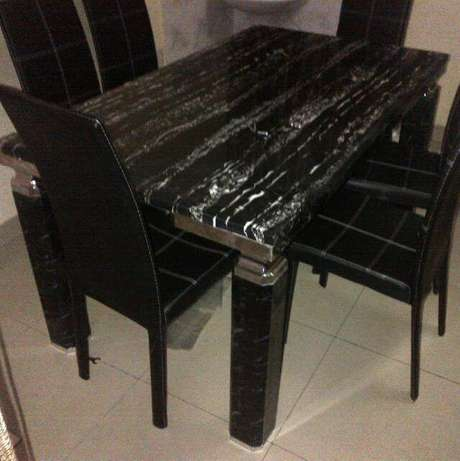 Dining table for6 999 with t74 chair Ajeromi LGA - image 1