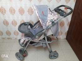 Baby Stroller and a Car Seat