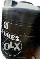 Used 6000 litres Storex water tank