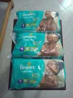 Pampers and diapers