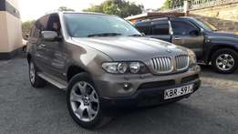 2004 BMW X5 Auto petrol brown,Trade in ok 1.59m