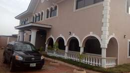 6 bedroom duplex with a BQ at Oluyole estate
