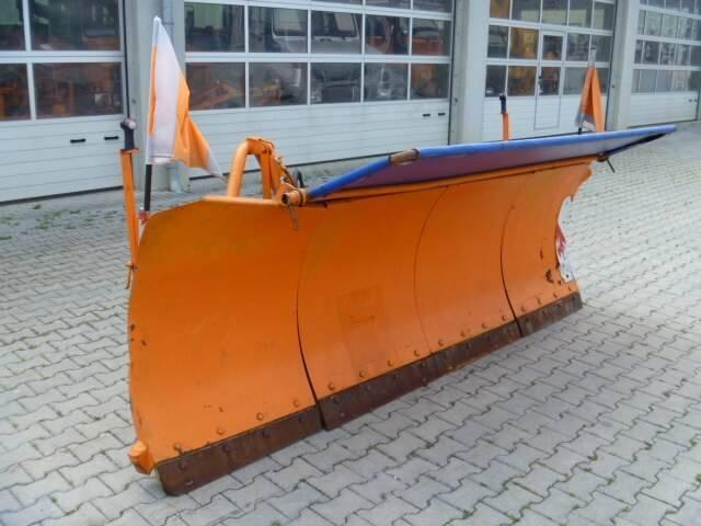 Unimog Schneepflug - Schneeschild Schmidt Mf 3.3 - 1983