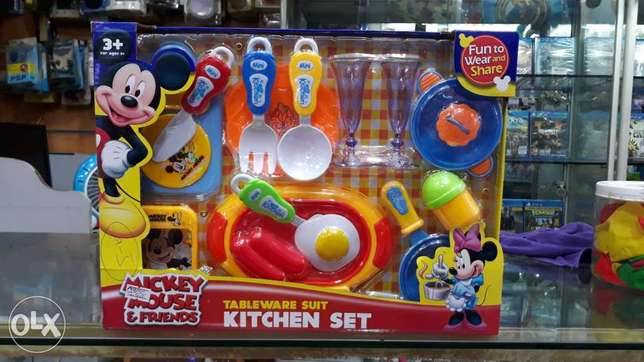 mickey mouse kitchen set for sell for kids toys